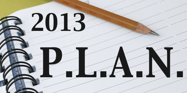 P.L.A.N. For 2013pt.3