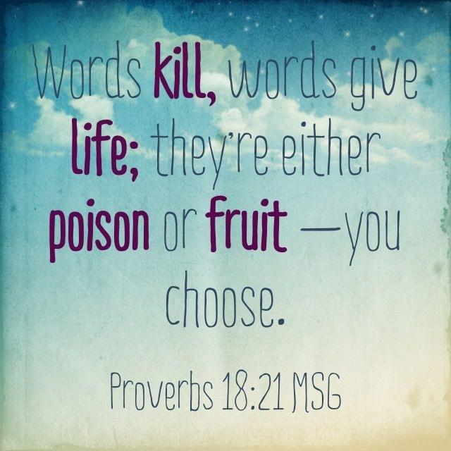 Words Kill