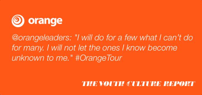 orange quote