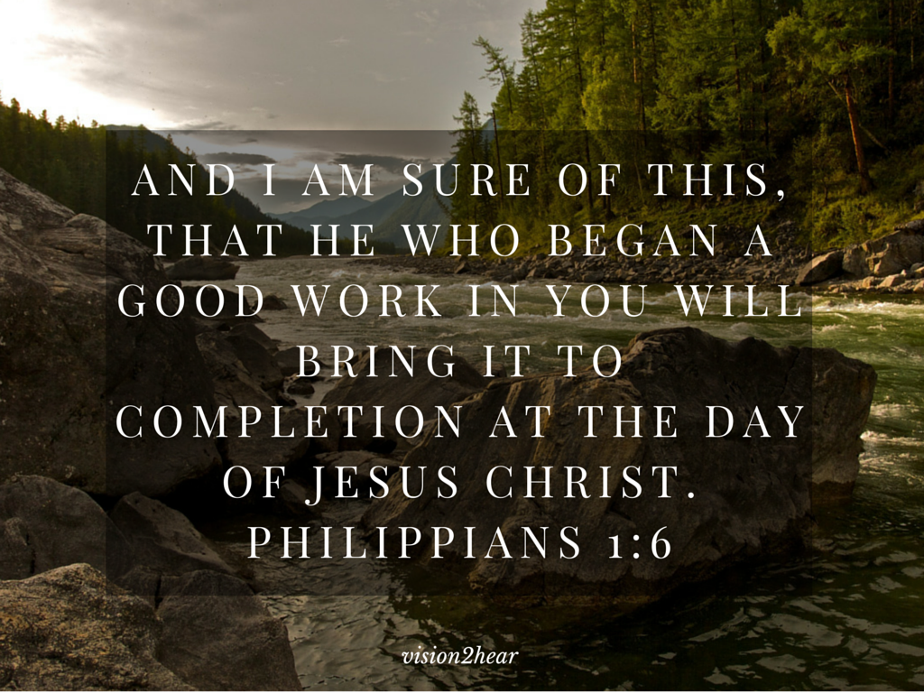 wave team reflections on philippians 1 6