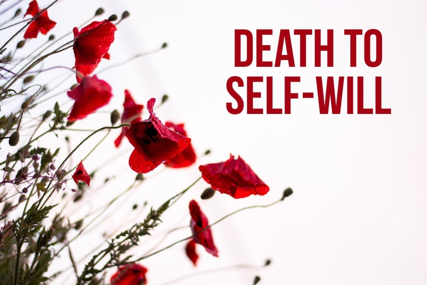 Death to self-will