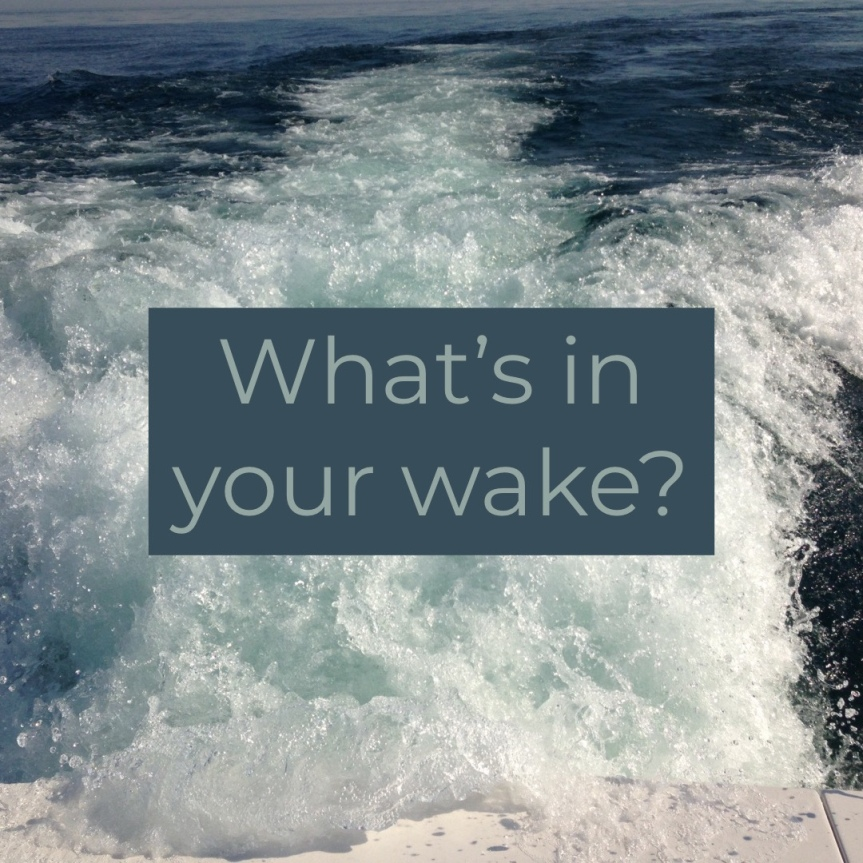 What's in yourwake?