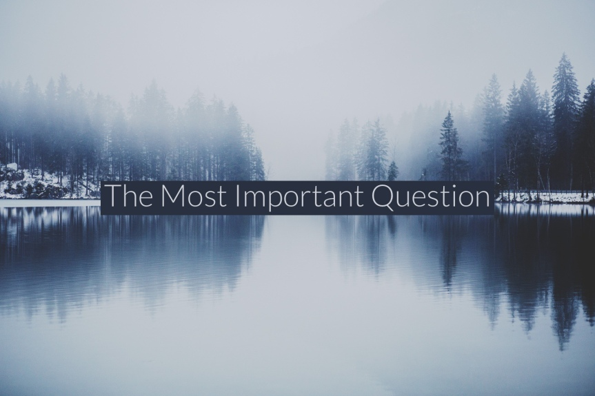 The most importantquestion